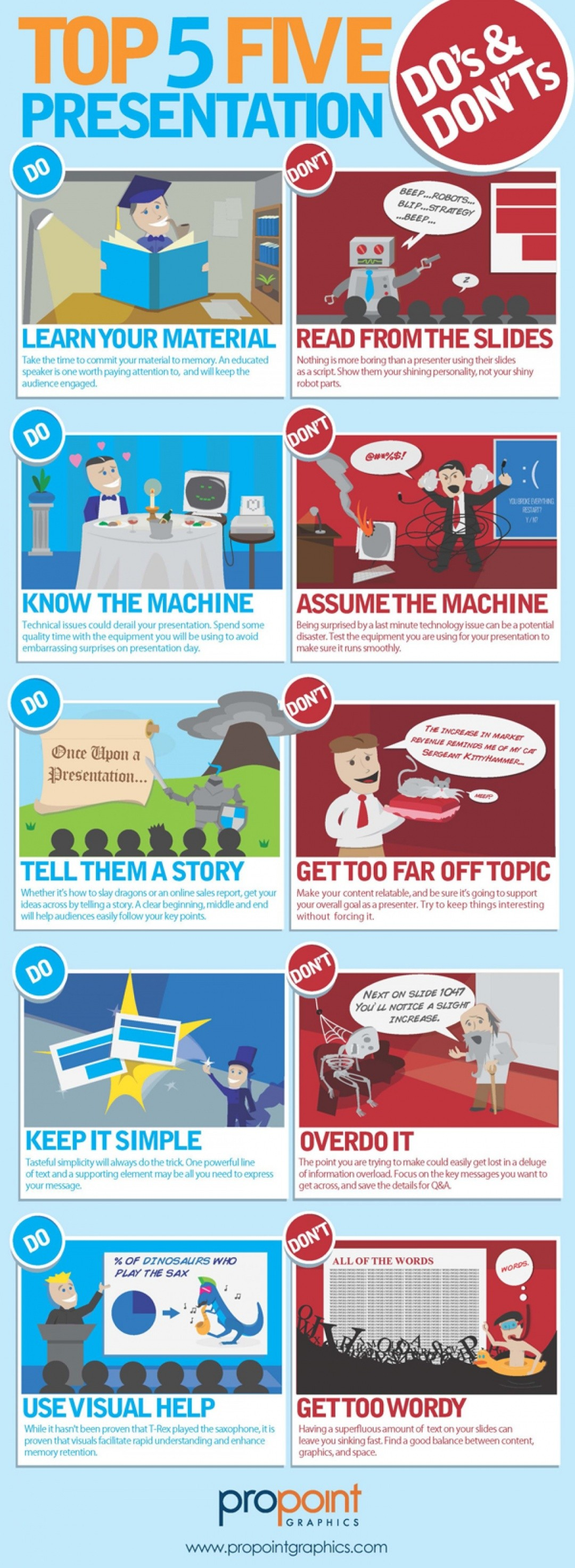 Top 5 Presentation Do's & Dont's