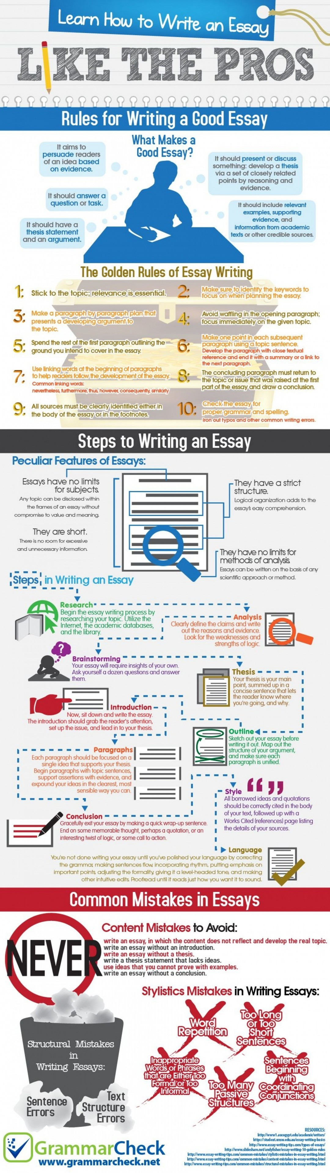 How To Write An Essay Like The Pros